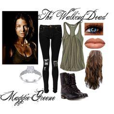 The Walking Dead- Maggie Greene