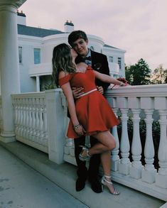 prom pictures prom poses prom couples friends succulent corsages and boutonnieres red dress navy suit blonde hair best friend Prom Pictures Couples, Prom Couples, Prom Photos, Dance Pictures, Cute Couples, Prom Pics, Cute Homecoming Pictures, Teen Couples, Dance Pics