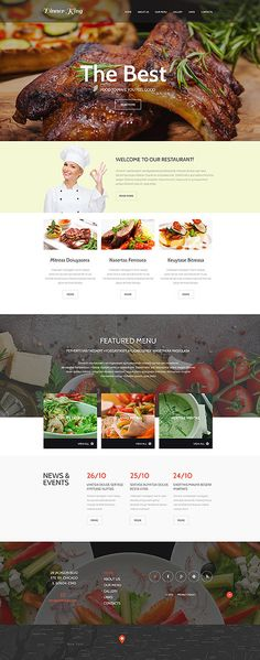 Design Needs Time... Cafe and Restaurant website inspirations at your coffee break? Browse for more Bootstrap #templates! // Regular price: $75 // Sources available: .HTML, .PSD #Cafe #Restaurant #MostPopular #Bootstrap #gifts #specials #reservation #kitchen #testimonials #offers #bonuses #restaurant #cafe #food #meal #cuisine #drink #menu #waiters #dish #wine #taste #tasty #flavor #recipe #launch #dinner #cookbook #vegetarian #cocktail #beverage #discount #patrons #king