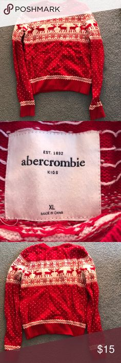 Abercrombie Kids Sweater In excellent condition! Only worn twice. Fits a child or small adult. (if you can wear an adult xs, this will for you!) abercrombie kids Shirts & Tops Sweaters