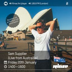 Rinse FM Podcast - Sam Supplier (Live From Australia) - 20th January 2017 by Rinse FM on SoundCloud