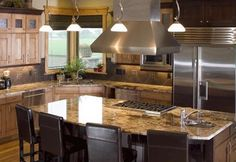 stainless-steel-refrigerator-modern-kitchen-decorating-staging