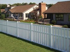 Vinyl fencing is a favorable option for property owners who need economical, aesthetically appealing and durable solution for adding value and security or privacy to the property. Description from mydecorative.com. I searched for this on bing.com/images