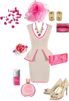 Pretty in Pink, created by robin-griehs-donoho on Polyvore