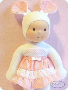 Waldorf doll 10 by Calinette  Lolita by Calinette on Etsy, $59.00