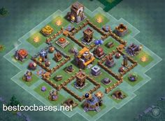 Find the best bases to gain cups! Anti 1 star bases for best defense! It`s time to smash your opponents with best Builder Hall 5 base!