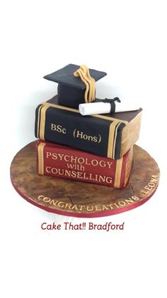 Graduation cake by cake that Bradford