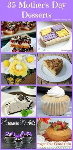 35 Mother's Day Dessert www.thenymelrosefamily.com #mothersday #desserts