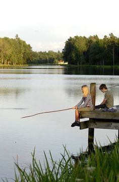 Moment's on the water fish'n