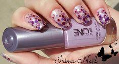 💅Tutorial manichiură în nuanțe de mov și violet   Tutorial manicure in d...