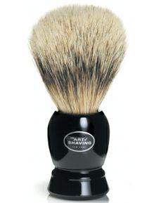 I'm learning all about Art of Shaving The  Black Fine Badger Brush at @Influenster!