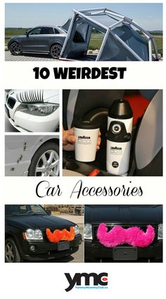 We've rounded up 10 of the strangest and craziest car accessories we could find. You won't believe number 10!