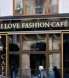 I Love Fashion Cafe in Vienna