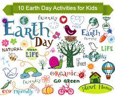 10 Engaging Earth Day Activities and routines // 10 Actividades para el Día de la Tierra para niños y niñas