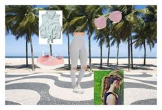 """""""Go to beach"""" by proste-jaa on Polyvore featuring Abercrombie & Fitch, Boohoo and Vans"""
