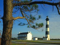 Bodie Island Lighthouse Cape Hatteras, USA