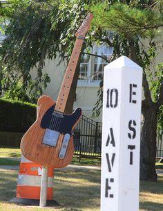 E Street, as in E Street Band.