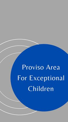 Proviso Area for Exceptional Children is one of our client districts. Link to website to learn more about them and begin your SPED job search! Special Education Jobs, Job Search, Student, Website, Learning, Children, Link, Young Children, Boys
