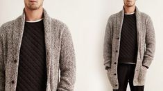 New Season Men Cardigan Models - Great Hobby Site