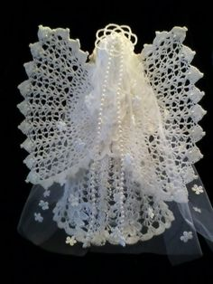 Crocheted Angel & Baby by AngelsandTreasures on Etsy