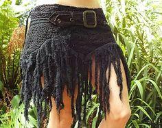 Black Tarazan Gypsy Festival Fairy Goa Skirt by AryaClothing Boho Hippie, Estilo Hippie Chic, Bohemian Skirt, Gypsy Skirt, Boho Gypsy, Hippie Style, Gypsy Cowgirl, Festival Trance, Hippie Festival