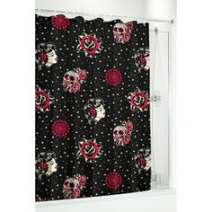 Day Of The Dead Shower Curtain - Def purchasing this soon!! I love it!