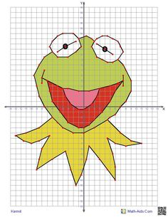 coordinate graphing cartoon characters - Google Search