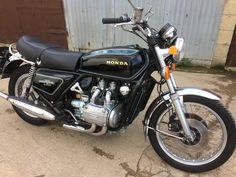 1977 GL1000 Honda Cb750, Motorbikes, Naked, Motorcycle, Vehicles, Projects, Gold, Log Projects, Blue Prints