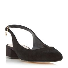 DUNE LADIES COCO - Slingback Block Heel Court Shoe - black | Dune Shoes Online