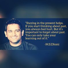 Dhoni Quotes About Life - - The idea of sport is a Past Quotes, K Quotes, Breakup Quotes, Wisdom Quotes, Motivational Quotes, Inspirational Quotes, Life Lesson Quotes, Life Lessons, Life Quotes
