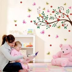 Image result for quarto de bebe adesivos de parede