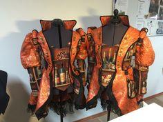 Jassen net bustier gemaakt voor klanten  Eigen ontwerp in Venetiaanse stijl Carnaval kostuums