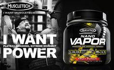 NEW NANO VAPOR! Available for Pre-Sale Now @ Bodybuilding.com!