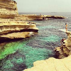 St peter's pool. Malta Malta Vacation, Malta Gozo, Archipelago, Maltese, Islands, Places To Go, Buildings, Wanderlust, Architecture