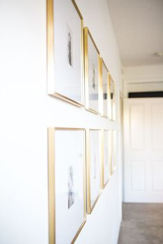 ROUNDUP: affordable gold accents Home Decor gold home decor Gold Accent Decor, Gold Wall Decor, Gold Home Decor, Luxe Decor, Frames Decor, Living Room Accents, My Living Room, Home Accents, Living Room Decor