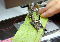Tutorial: how to use the BERNINA patchwork foot no. 97 and 97D