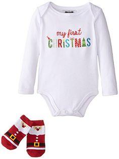 Ho Ho Ho Merry Christmas Gerber OnesieSanta Claus Joy Holiday Baby Romper