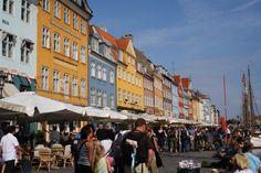 Foto da me scattata delle case colorate a Copenhagen, Danimarca. Alessandra Vinci