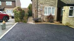 Salisbury driveway before RonaDeck Resin Bound Surfacing #resin