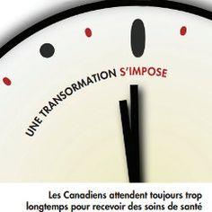 Encore autant de victimes des temps d'attente pour des soins médicaux (Canada, Québec)