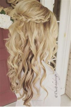 Splendid Wedding Hairstyles » 22 Half Up and Half Down Wedding Hairstyles to Get You Inspired »     See more:  www.weddinginclud…  The post  Wedding Hairstyles » 22 Half Up and Half Down Wedding ..