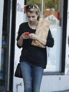Emma Roberts in West Hollywood, California on May 5, 2014.