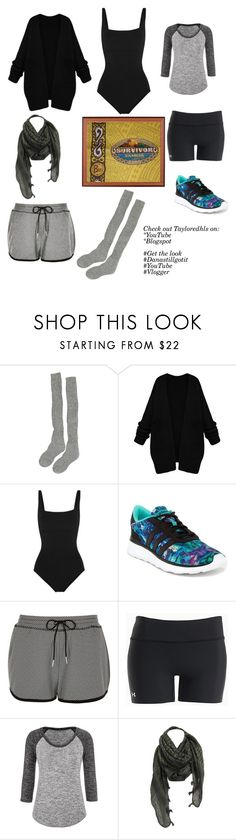 """""""My ideal Survivor look ( OUTWIT OUTPLAY OUTLAST)"""" by tayloredheels ❤ liked on Polyvore featuring Eres, adidas, River Island, Under Armour, maurices, youtube, Get, vlogger and Danastillgotit"""