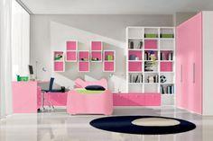 I like these shelves for the girls' bedroom. Google Image Result for http://media3.onsugar.com/files/2012/01/52/0/2105/21055827/6cb221fd8a7dfd62_Girls_Bedroom_Decorating_Ideas_a.xxxlarge_0.jpg