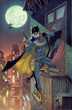 Batgirl New Suit by Garrie M Gastonny