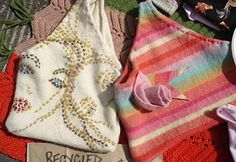 Recycle your old sweaters into awesome handy shopping or carry-all bags that you will always use and need.  Here's the how-to!