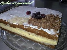 Gâteau à la danette