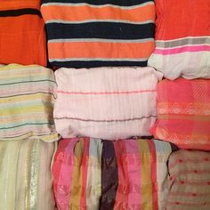 ace&jig pink and orange textiles