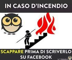 In caso d'incendio