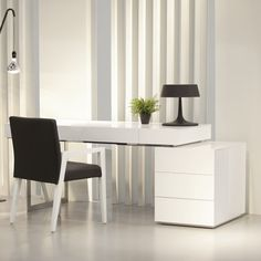 ju0026m furniture loft computer desk - Modern Computer Desk